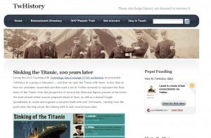 Twhistory website