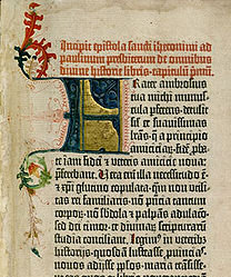 With the earliest printed books, or incunabula, such as the Gutenberg Bible, printers sought to mimic the hand written manuscripts with which 15th cent scholars were familiar; in much the same way as publishers now seek to replicate printed books as ebooks.