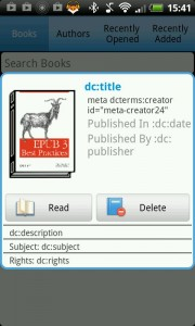 In Ideal Android Reader