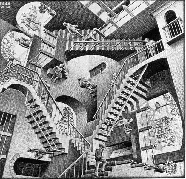 Relativity - M C Escher