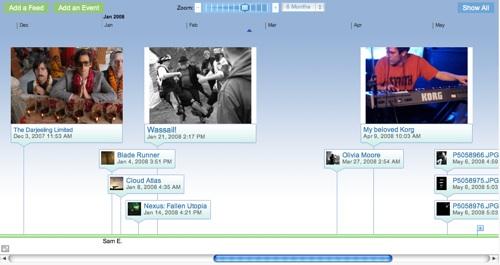 My dipity timeline
