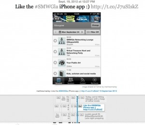 #smwgla timeline