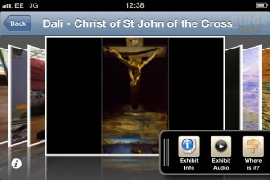 Screenshot of GuideMe Kelvingrove Museum App