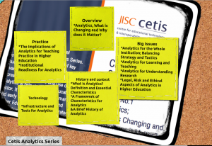 The Cetis Analytics Series Graphic